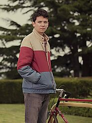 Asa Butterfield Sex Education Jacket - Just American Jackets