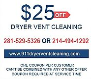 911 Dryer Vent Cleaners Houston TX