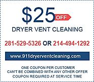 911 Dryer Vent Cleaning |Reduce Fire Risk| Cheap Lint Cleaner