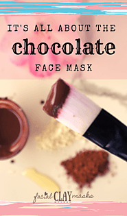 4. Chocolate Face Mask