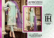 Buy Afrozeh Chiffon Suit On Sale exclusive at Replica Zone