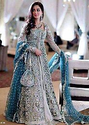 Buy Elan Bridal Chiffon Suit On Sale exclusive at Replica Zone