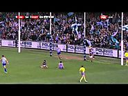 Chad Wingard freakish goal and injury - Round 3, 2014