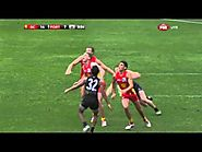Westhoff incredible soccer goal - Round 21, 2014 v Gold Coast Suns