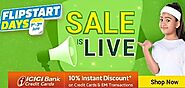 Get Upto 80% Discount in Flipkart Flipstart Days Sale
