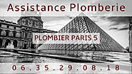 Plombier Paris 5 - Plombier Qualifié - Intervention 24H/24
