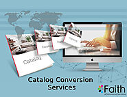 Outsource Catalog Conversion Services
