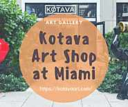 Kotava Art Gallery Shop in Miami | Visual.ly