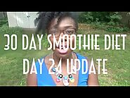 Day 24 Weigh In - The Finale of the 30 Day Smoothie Diet
