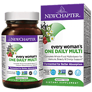 Every Woman™'s One Daily Multivitamin | New Chapter Women's Wellness