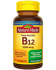 Nature Made Vitamin B12 1000 mcg Timed Release Tablet