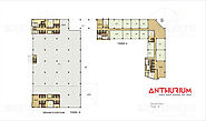 Floor Plan - Anthurium Noida Office Space Floor Plan