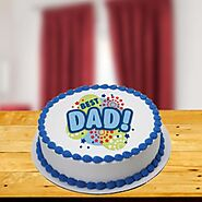 Special Words to Dad Cake - Indiagift.in