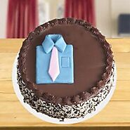 Chocolate Photo Cake for Dad Home Delivery | Indiagift