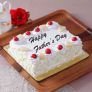 Fathers Day Square Pineapple Cake