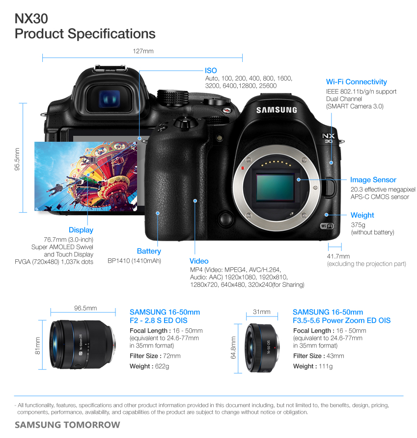 Headline for Samsung NX30 Camera Reviews And Accessories