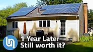 Solar Panels For Home - 1 Year Later Review