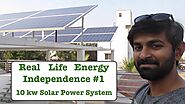 Real Life Energy Independence - 10 kw Solar Power Setup