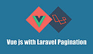 Vue js with Laravel Pagination - PHP Web Development