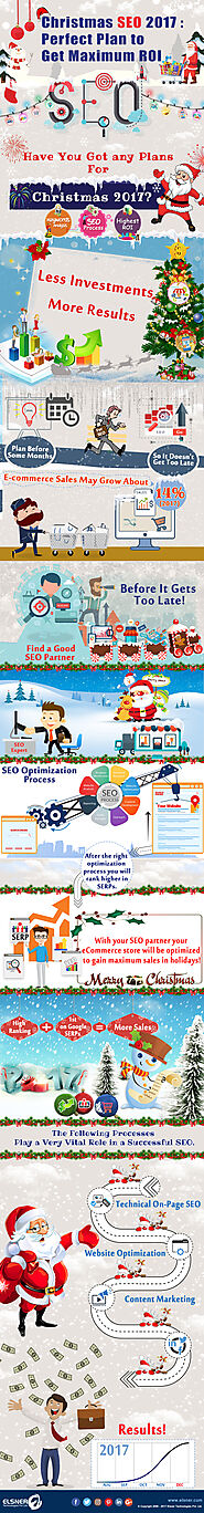 Christmas SEO 2017: Perfect Plan To Get Maximum ROI [Infographic]