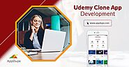 Scale your business with an Udemy clone app development