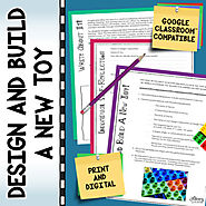 Design and Build a New Toy | Google™ Compatible for Distance Learning
