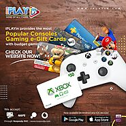 iPLAYin provides the most popular consoles gaming e-gift cards!