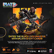 Enter the Black Ops Universe with iPLAYin e-Gift Cards!