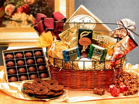 Headline for Best Holiday Chocolate Gift Baskets Reviews