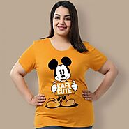 Shop Awesome Mesmerizing Graphic Plus Size Tops For Women at Beyoung