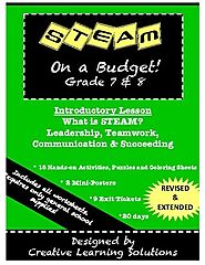 STEAM on a Budget! Introductory Lesson by Creative Learning Solutions