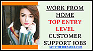 Best customer support jobs - Join from home - Remote work