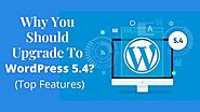 Why You Should Upgrade to WordPress 5.4? (Top Features)
