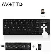 AVATTO T18 Super Slim 2.4G Wireless Keyboard | Shop For Gamers