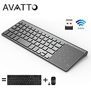 AVATTO T19 Wireless Mini Keyboard | Shop For Gamers
