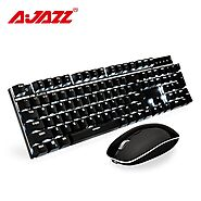 Ajazz A3008 2.4G Wireless Mechanical Keyboard | Shop For Gamers