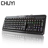 CHUYI Wired Gaming Keyboard LED Backlit