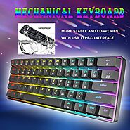 Gateron Switch RGB Game Mechanical Keyboard | Shop For Gamers