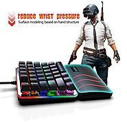 HXSJ V200 One Hand Mechanical Gaming Keyboard | Shop For Gamers