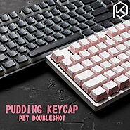 DURGOD Pudding Keycaps 104 Keys Keyboard | Shop For Gamers