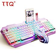 TTQ KM1 USB Gaming Keyboard & Mouse | Shop For Gamers