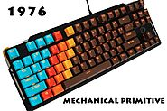 MP 1976 Chocolate Color 108 Keys Mechanical Gaming Keyboard