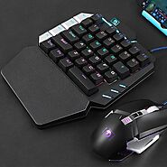 LexonElec Single-Handed Mechanical Keyboard K109 | Shop For Gamers