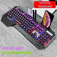 618 RGB LED Mechanical Gaming Keyboard | Shop For Gamers