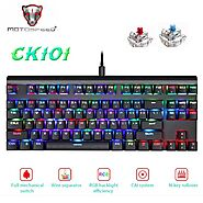 Motospeed CK101 Mechanical Keyboard | Shop For Gamers
