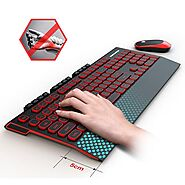 KB-36 2.4G Wireless Gaming Keyboard Mouse Combo | Shop For Gamers