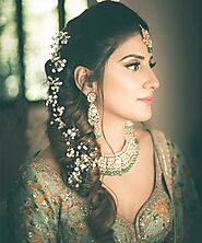 Attractive, Stylish, Trendy Indian Bridal Hairstyles 2020