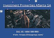 Investment Sales Real Estate in Atlanta- Rise Property Group