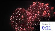 Fireworks 5.06 Showcaster, one minute Countdown timer for live Broadcasts