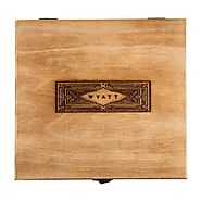 Premium personalized wooden cigar boxes - Custom-Engraved